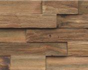 Teak Holzverblender Echtholz